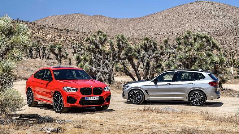 BMW X3 M e X4 M: le caratteristiche dei nuovi SUV a sei cilindri