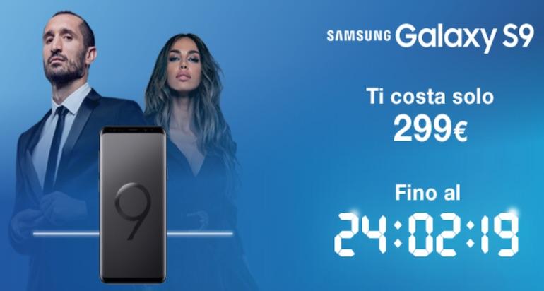 Samsung S9 con Tre a meno di 300 euro: tutto sulla promozione
