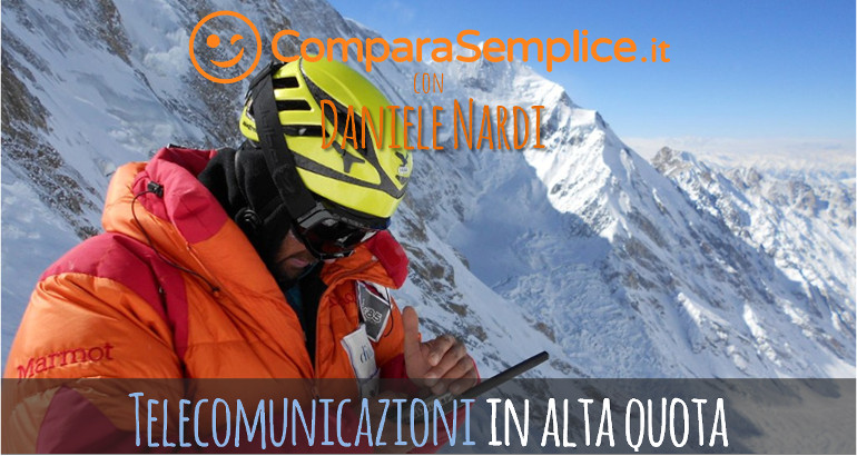 Telecomunicazioni sul Nanga Parbat: come comunica Daniele Nardi