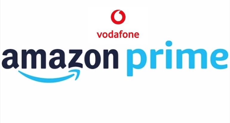 Vodafone regala 1 anno di Amazon Prime con alcune tariffe cellulari