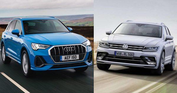 Audi Q3 Vs Volkswagen Tiguan 2019: le caratteristiche dei SUV