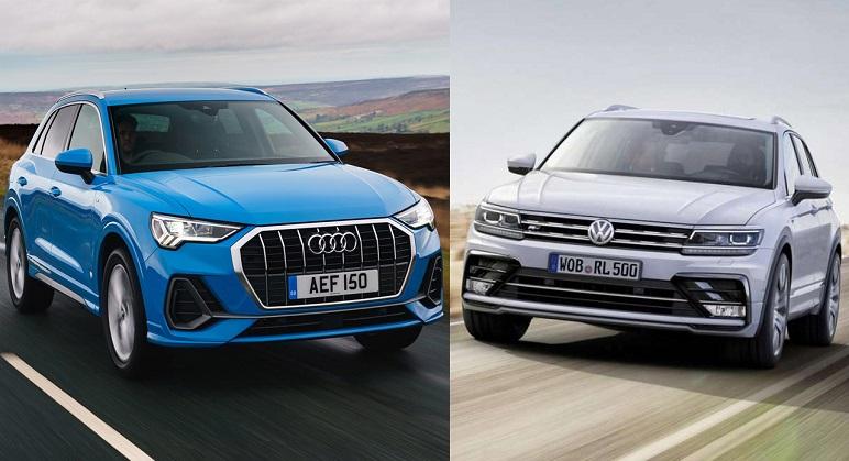 Audi Q3 Vs Volkswagen Tiguan 2019: le caratteristiche dei SUV a confronto