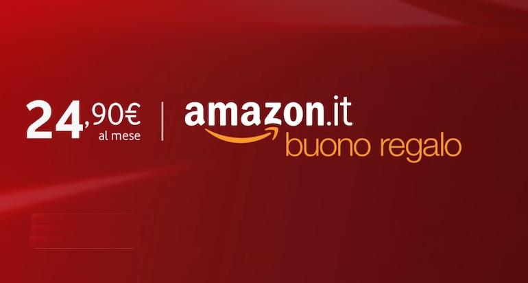 Promozione Vodafone casa: torna il buono Amazon in omaggio