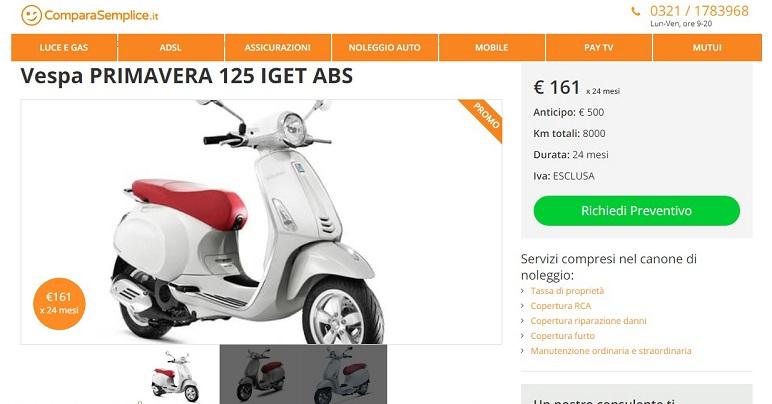 Maggio 2019: le migliori offerte moto e scooter a noleggio lungo termine