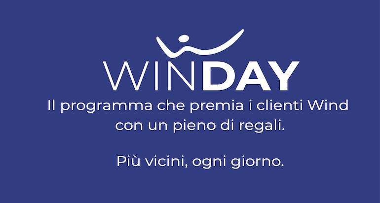 Wind Day: cos'è e come funziona il programma a premi Wind