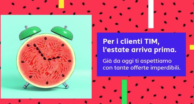 Offerte TIM mobile estate 2019: tutte le promozioni