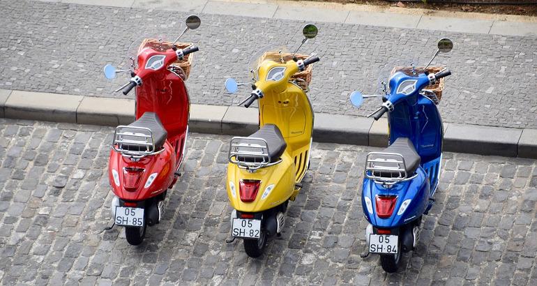 Targa straniera: novità moto, confisca