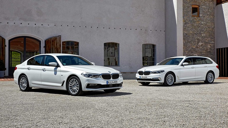 BMW Serie 5: caratteristiche della versione diesel mild hybrid