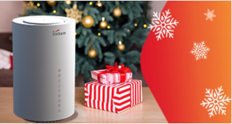 Sconto Linkem Natale 2019: promozioni su Abbonamento e Prepagata