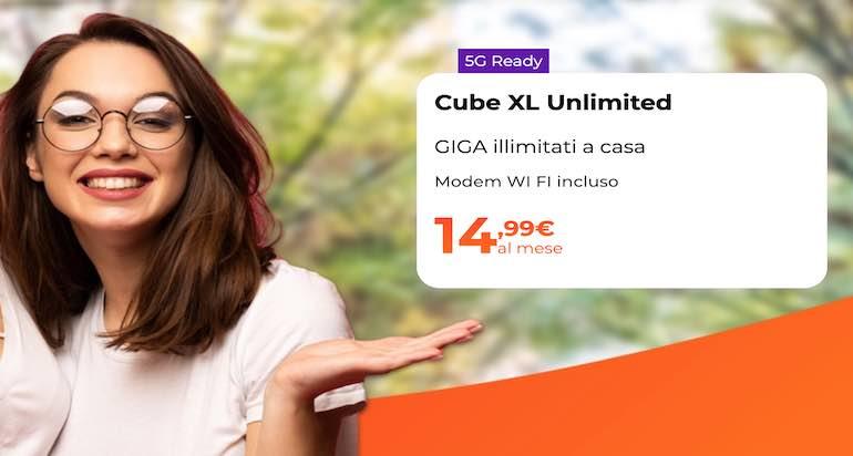 Cubo WINDTRE con Internet illimitato a 14,99€: cos'è e come funziona