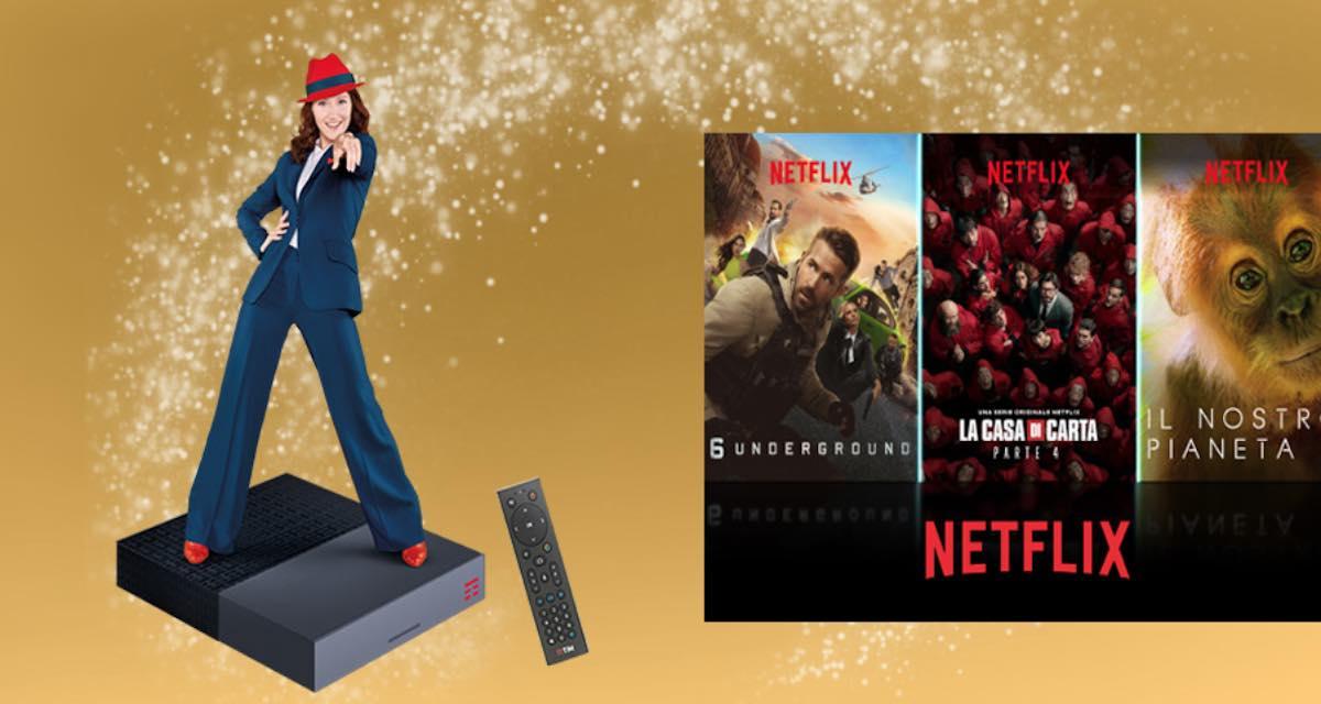 Mondo Netflix TIM: cos'è, quanto costa, come funziona