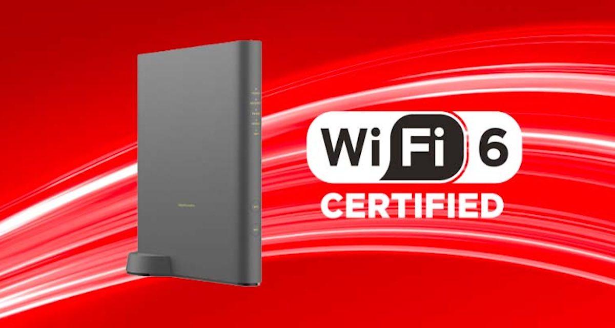Vodafone lancia il nuovo modem Wifi 6 e un'offerta fisso + mobile con 150 GB
