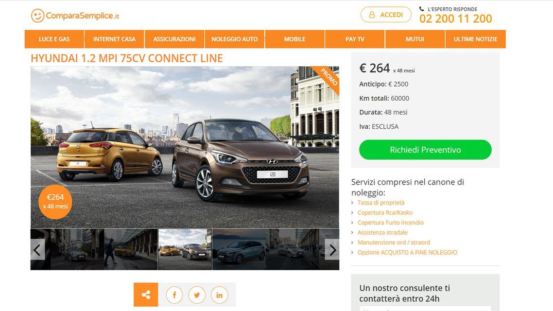 Offerte noleggio auto lungo termine: gennaio 2021