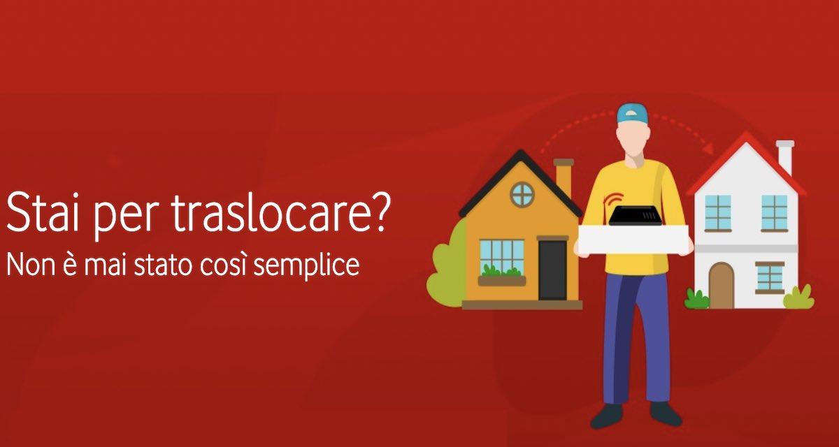 Trasloco Linea Vodafone: come si fa e quanto costa
