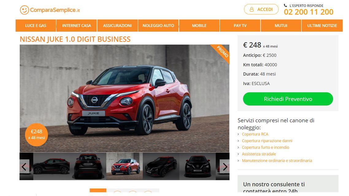 Offerte noleggio auto lungo termine: febbraio 2021