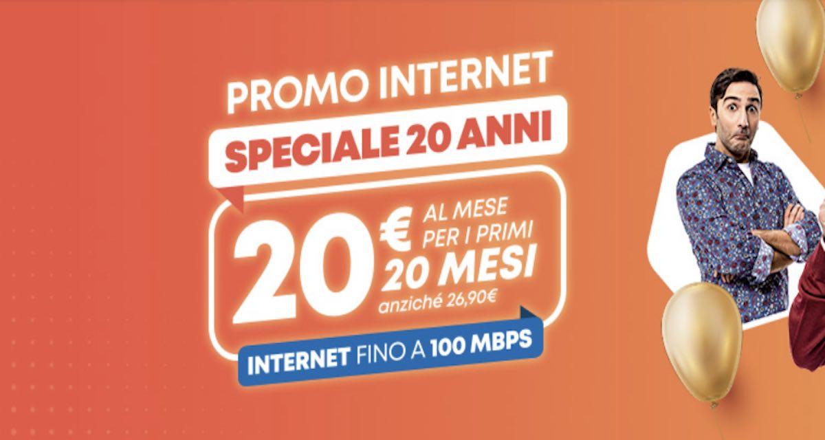 Linkem festeggia 20 anni e lancia l'offerta 5G a 1 Gbps in oltre 30 Comuni