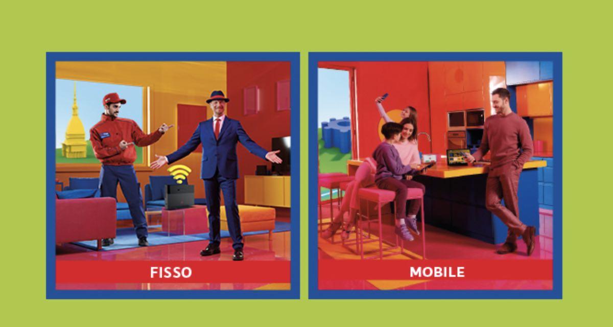 Offerta fisso mobile TIM: tutto illimitato a meno di 40€/mese