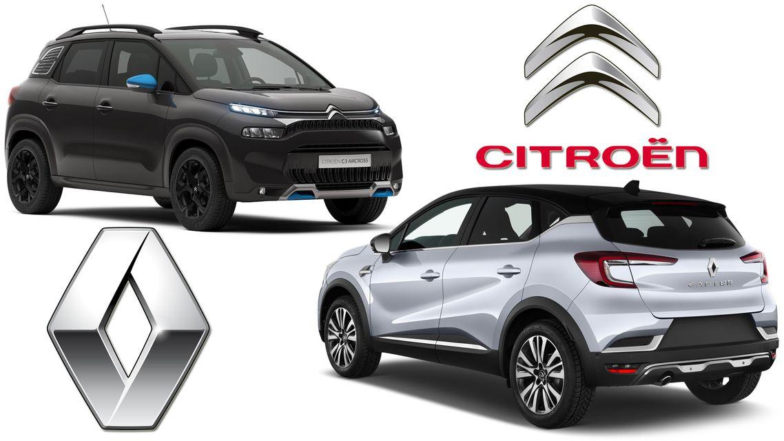 Confronto: Renault Captur vs Citroen C3 Aircross