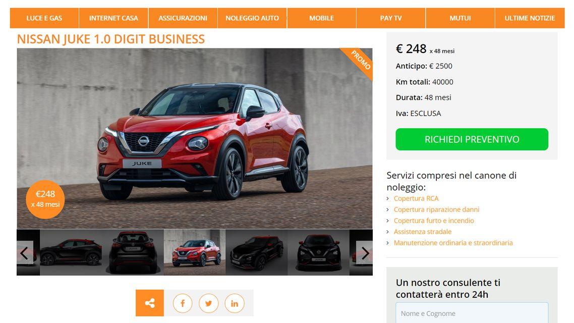 Offerte noleggio auto lungo termine: maggio 2021