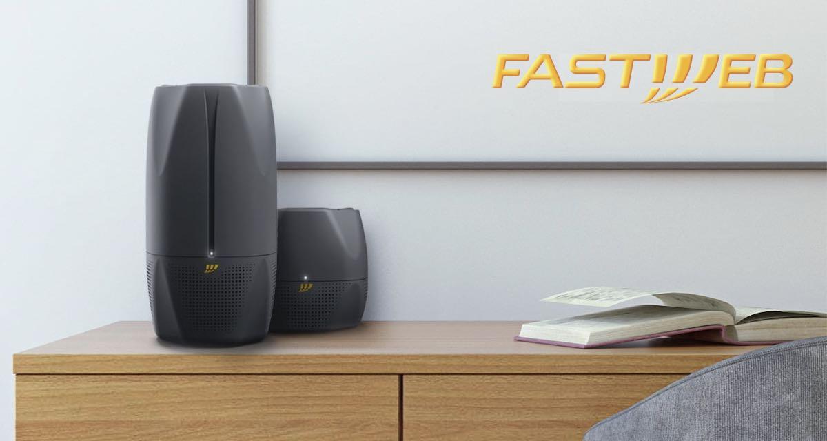 Nuove offerte Fastweb: modem con Alexa integrato e tariffa con chiamate a consumo