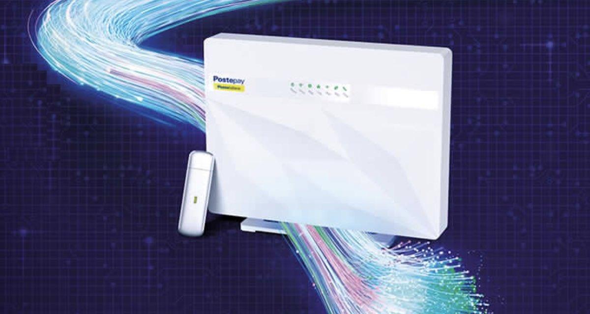 PosteCasa Ultraveloce: offerta fibra e Internet 4G illimitato a meno di 27€/mese