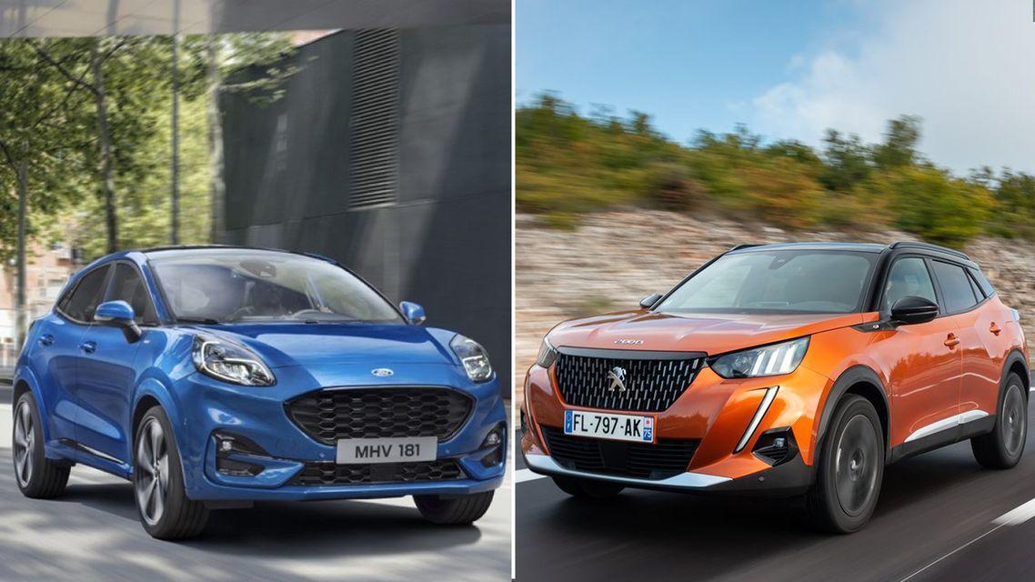 Ford Puma vs Peugeot 2008 2021: il confronto tra i B-SUV che piacciono
