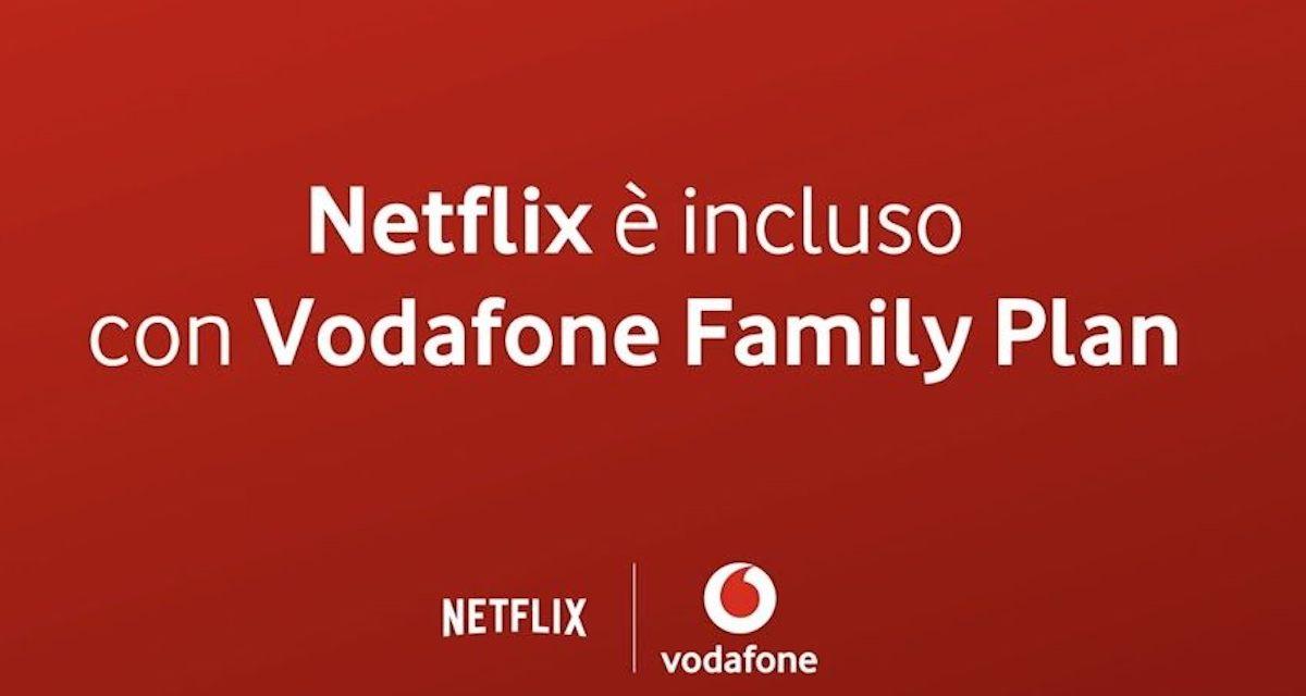 Offerta Vodafone fisso – mobile con Netflix incluso a 44,90€/mese da oggi